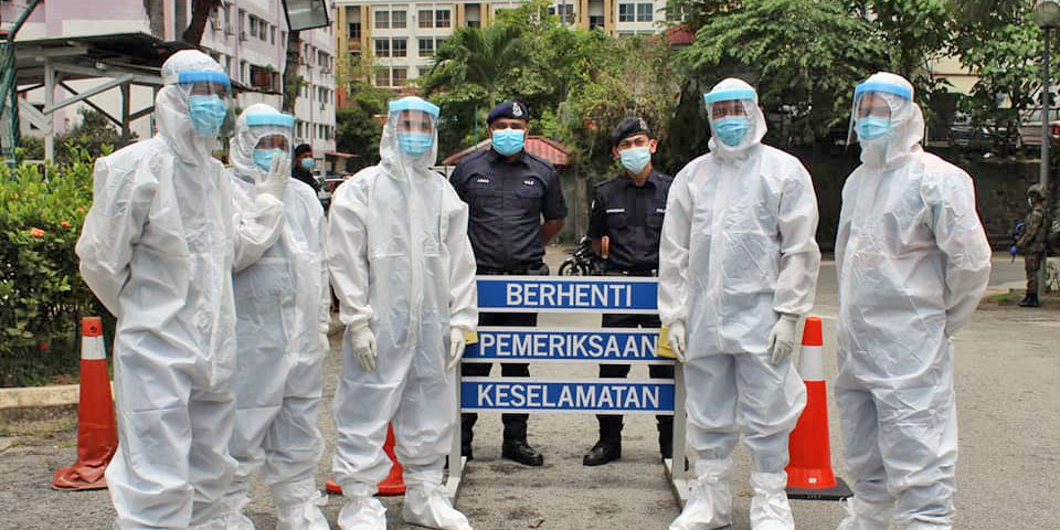 Whole Malaysia, Except Sarawak, Under MCO Lockdown!