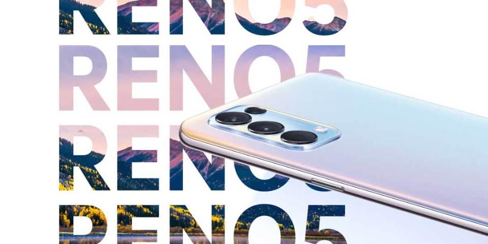 OPPO Reno5 Smartphone : 5G + 64 MP Camera Combo!