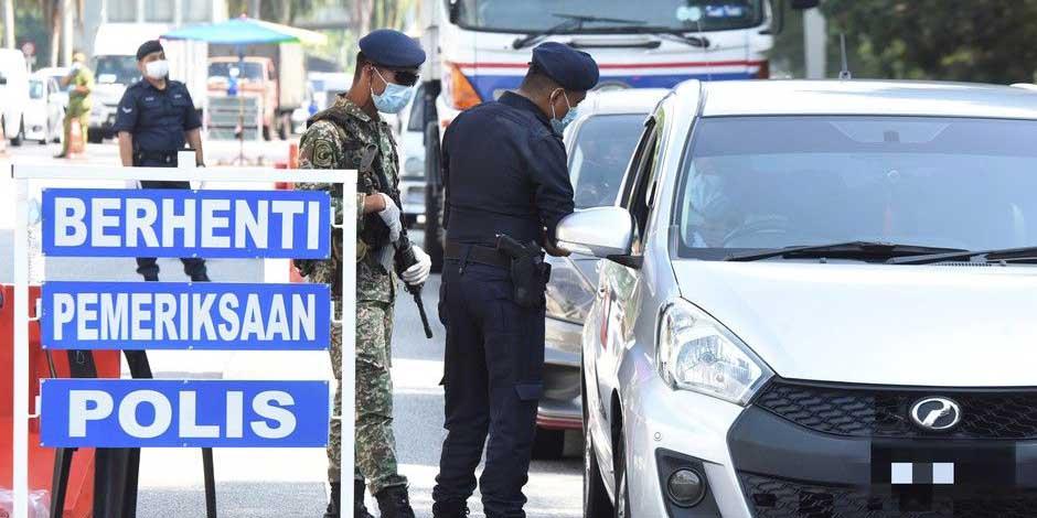 MCO in Penang : 14 Roadblocks + 2 Road Closures!