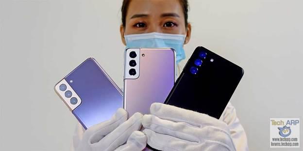 Samsung Galaxy S21 Plus Colour Comparison!