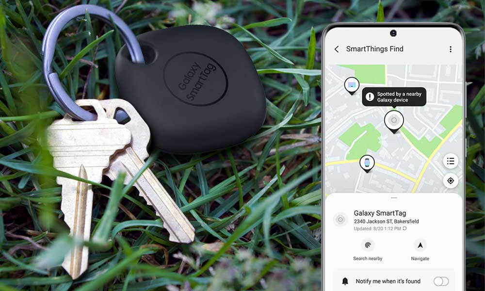 Samsung Galaxy SmartTag out of range