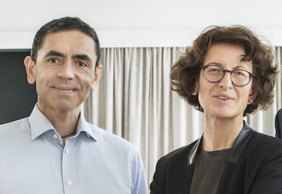BioNTech founders - Uğur Şahin and Özlem Türeci