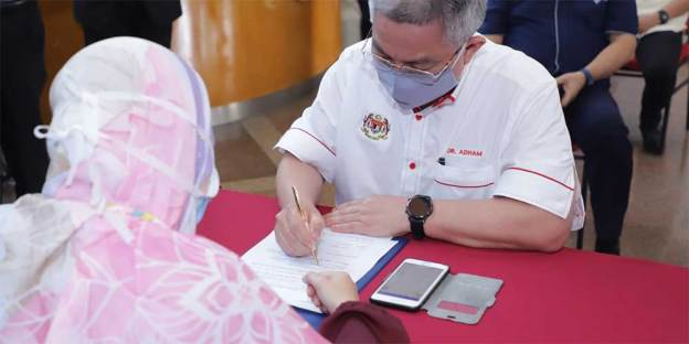 Official COVID-19 Vaccination Consent Form For Malaysia