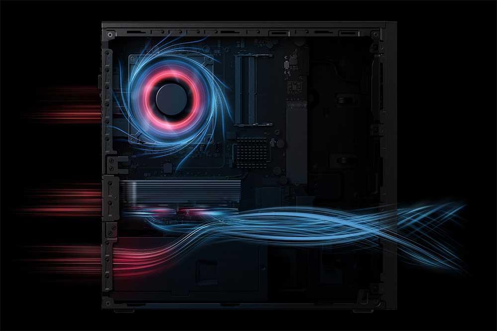 HUAWEI MateStation S cooling design