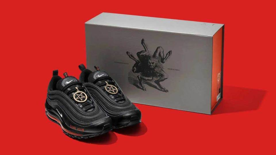 Fact Check : Nike Made Lil Nas X's Satan Shoes?