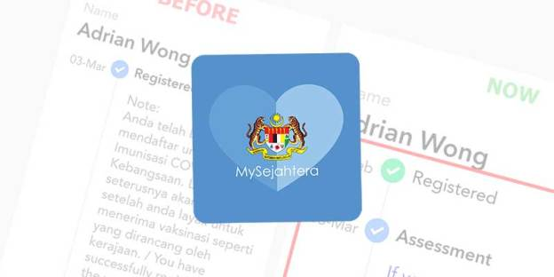 MySejahtera Now Show Correct Vaccine Registration Dates!