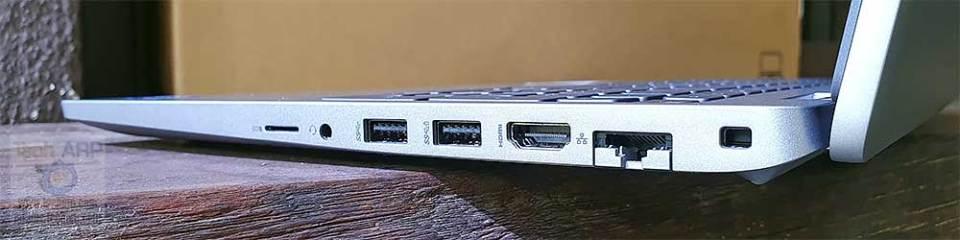 Dell Latitude 5520 right ports