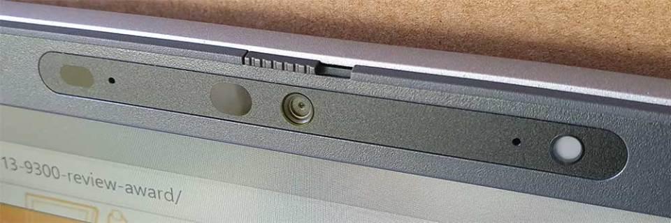 Dell Latitude 5520 webcam open