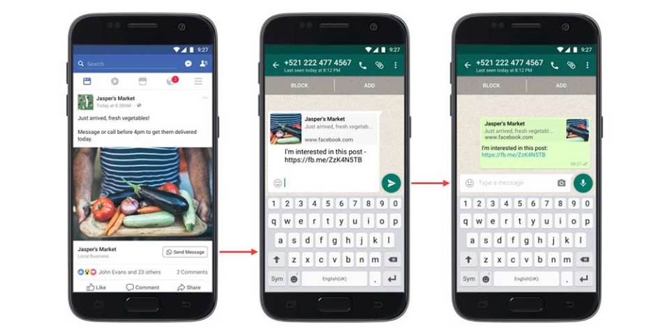 Facebook Rolls Out Click To WhatsApp Ads!