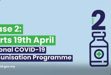 Phase 2 COVID-19 Vaccinations Kick Off In Malaysia!