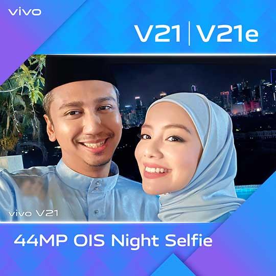 Antara Dua Hati : Catch Mira Filzah With vivo V21 Series!