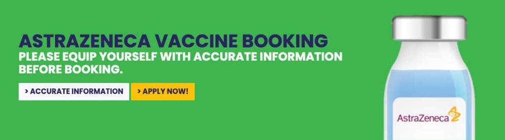 AstraZeneca COVID-19 Vaccine : How To Register For It!