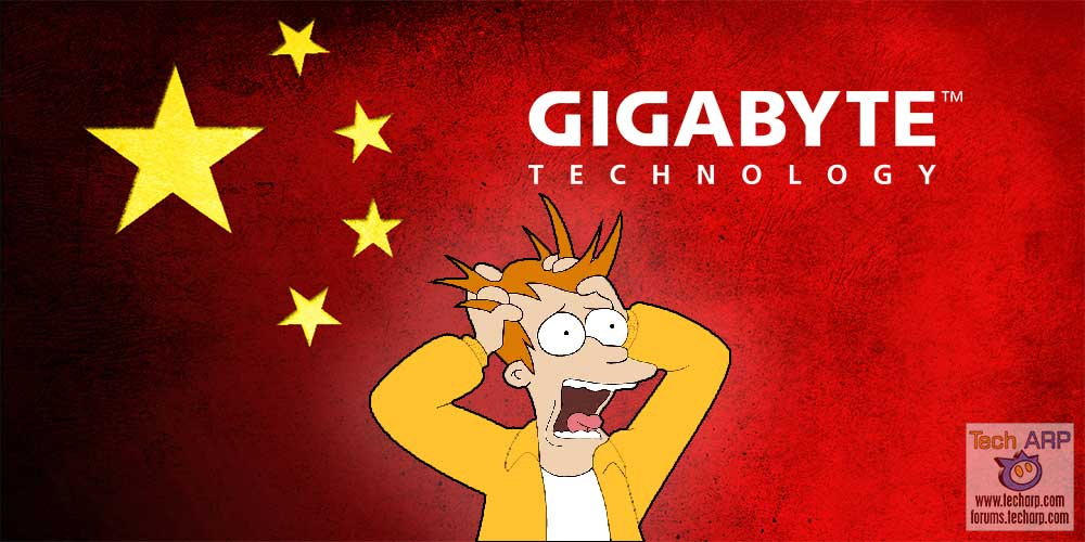 China Boycotts GIGABYTE Over Low Quality Claims!