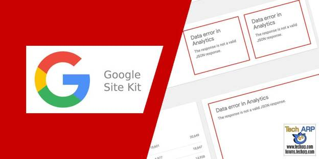 Google Site Kit JSON Data Error : How To Fix It?