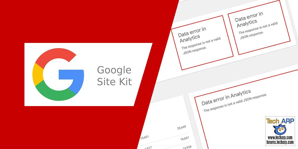 Google Site Kit JSON Data Error : How To Fix It?