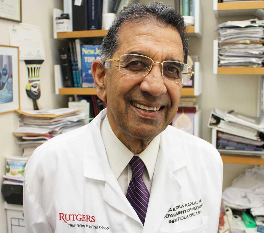 Dr Rajendra Kapila MD - Rutgers New Jersey Medical School