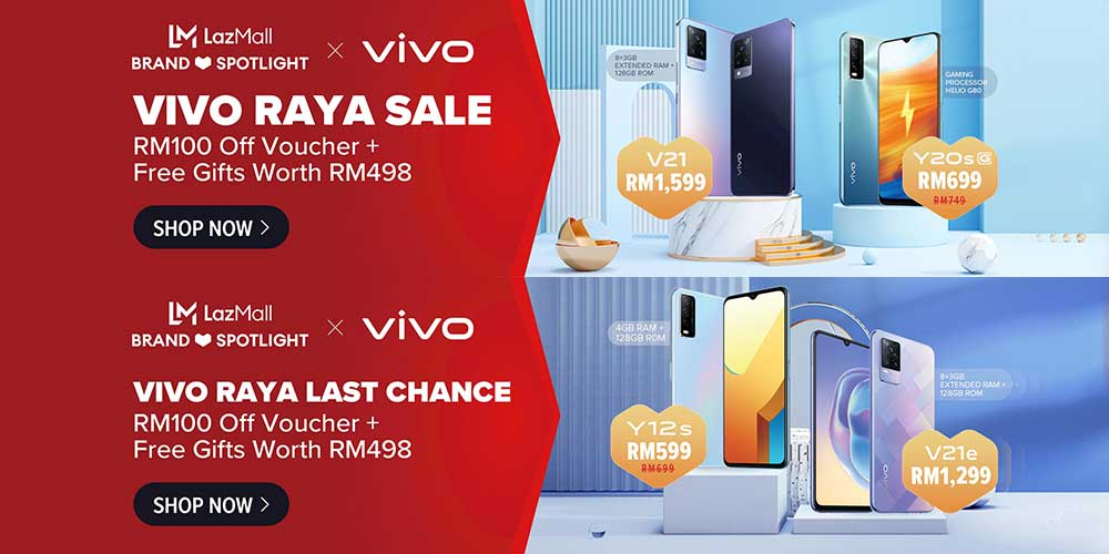 AWESOME vivo Deals During LazMall Super Brand Spotlight!