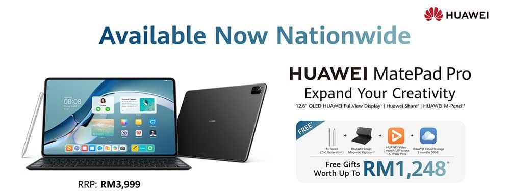 2021 HUAWEI MatePad Pro : Malaysia Price + Deal!