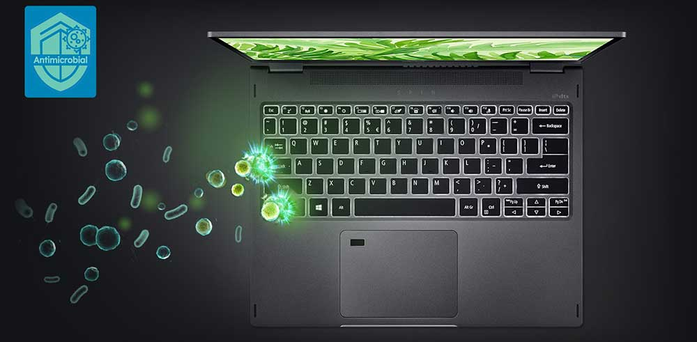 Acer Spin 3 5 antibacterial coating