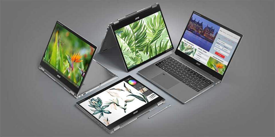 Acer Spin 3 5 modes