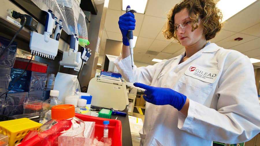 Gilead Sciences laboratory