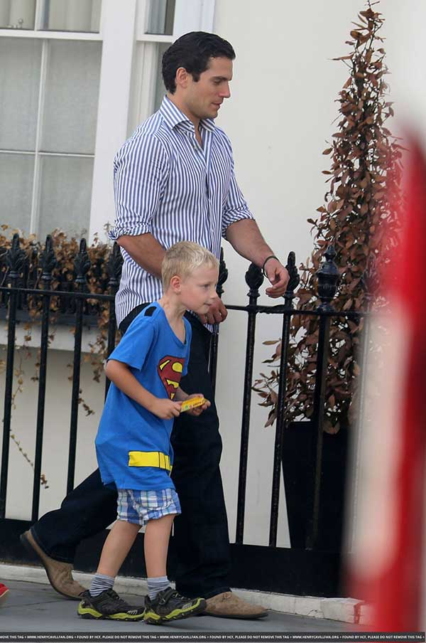 Fact Check : Henry Cavill Had To Prove Nephew Didn't Lie?