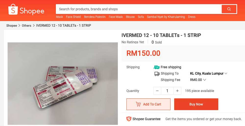 Ivermectin Shopee Price