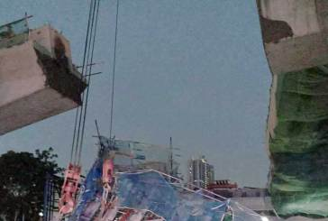 DASH Highway Scaffolding Collapsed, Injuring Two Workers!