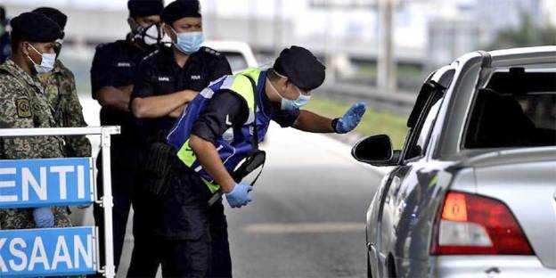 PDRM Police Roadblock : Who Is Allowed To Pass?