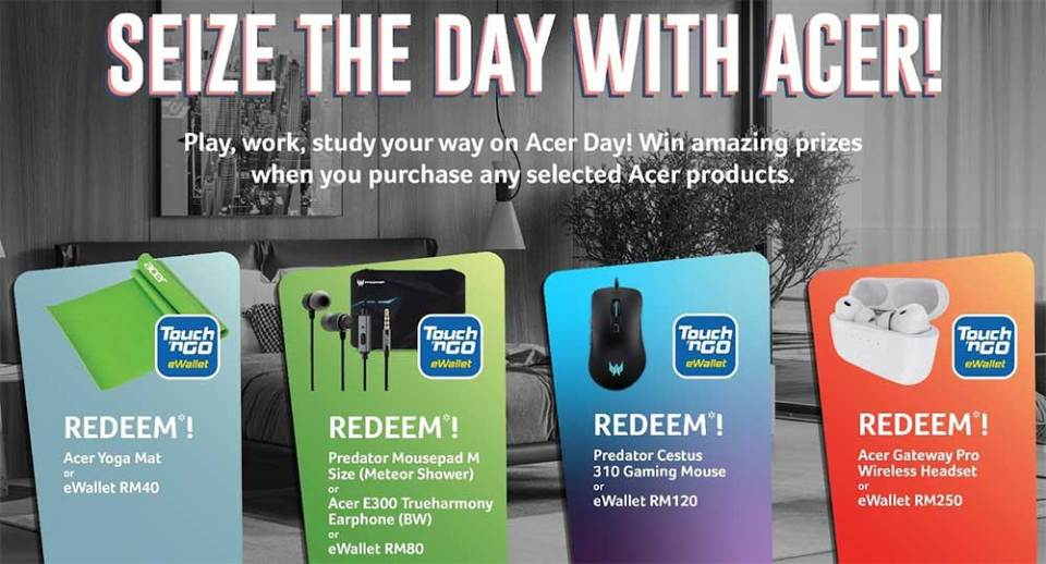 2021 Acer Day free gifts