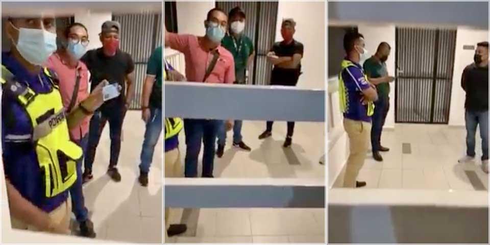 Fact Check : Fake Police Raid On Penang Apartment?