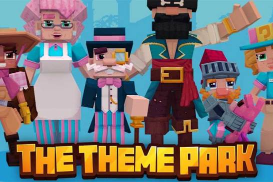 The Theme Park For Minecraft : How To Get It FREE!