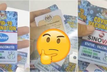 Fact Check : COVID-19 Vaccination ID Card For Malaysia!