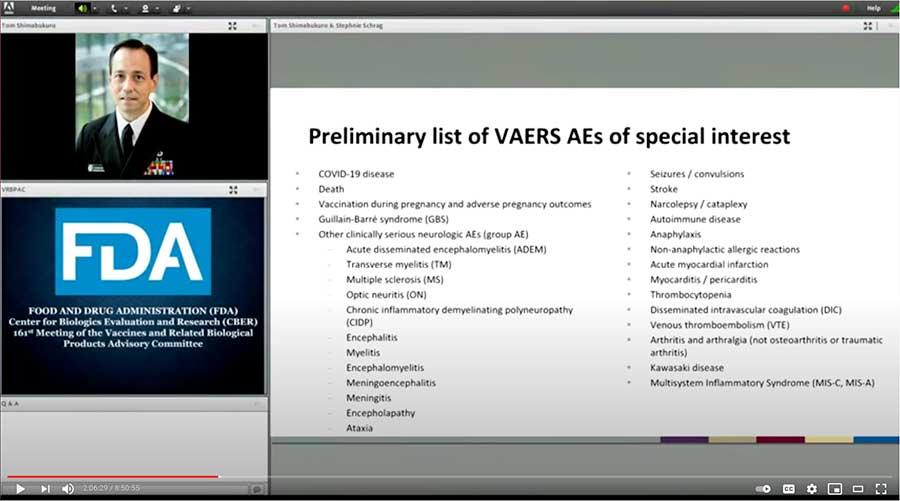 Dr. Tom Shimabukuro COVID-19 Vaccine Possible Side Effects slide 01