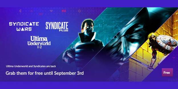 Four Ultima + Syndicate Games Are FREE For A Limited Time!