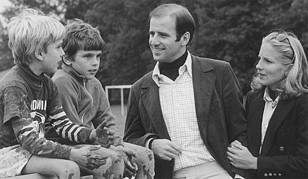 Joe Biden and Family in 1970s