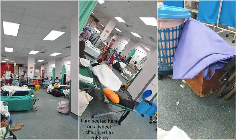 Pictures of Serdang Hospital, shared by COVID-19 survivor, Lillian