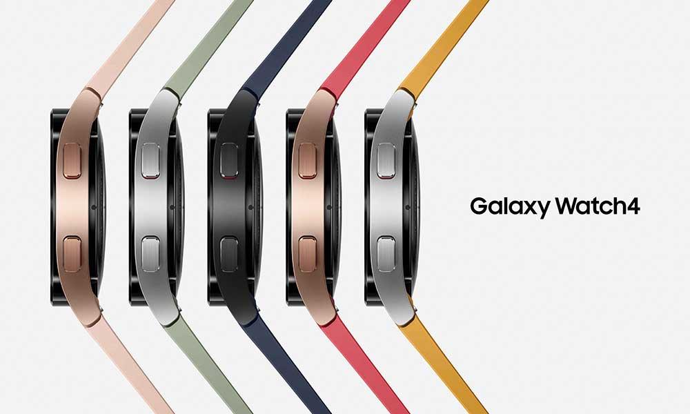 Samsung Galaxy Watch 4 colour options