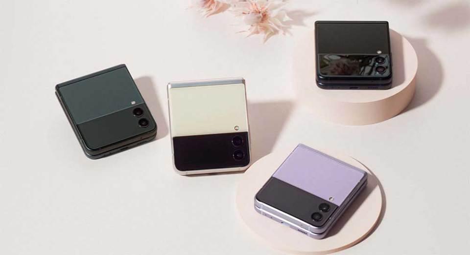 Samsung Galaxy Z Flip 3 colour options