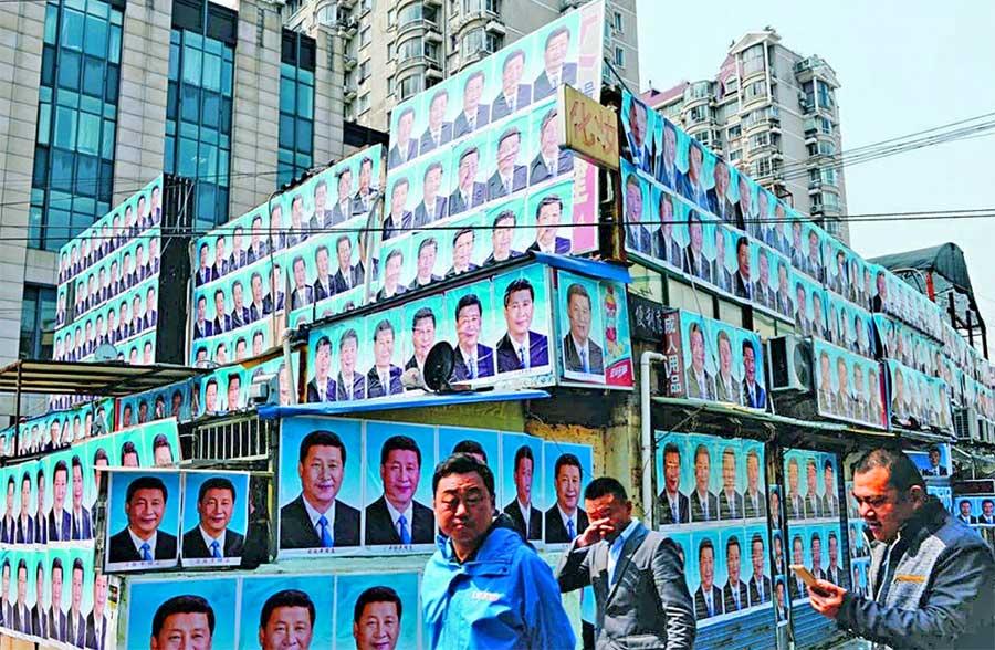 Did Xi Jinping Portraits Xi-eld Home From Demolition?