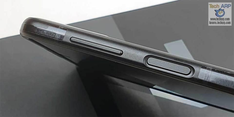 Samsung Galaxy Flip 3 buttons