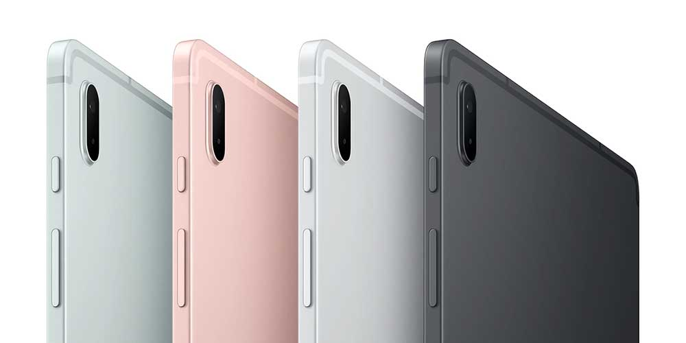 Samsung Galaxy Tab S7 FE colour options
