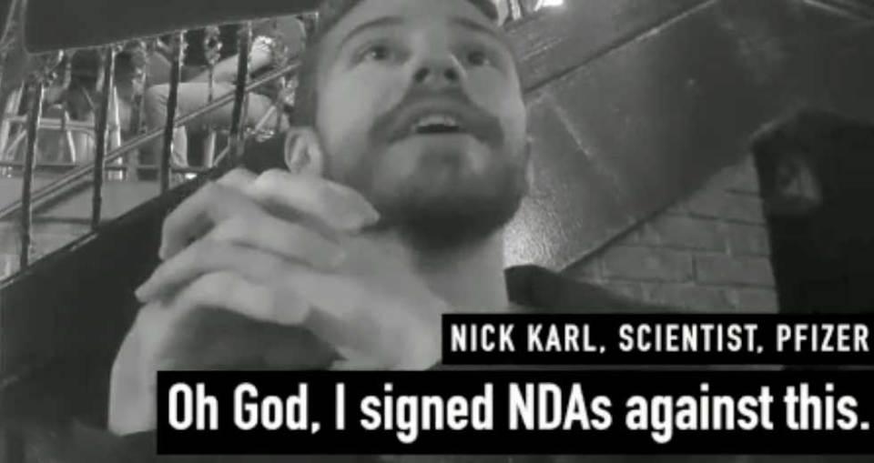 Project Veritas Nick Karl Pfizer NDA claim