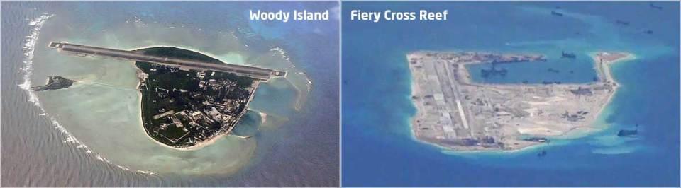 Woody Islands Fiery Cross Reef