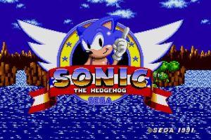 Sonic - Ecran titre