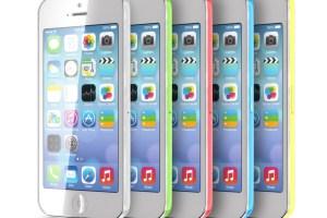 Iphone 5C 5 couleurs
