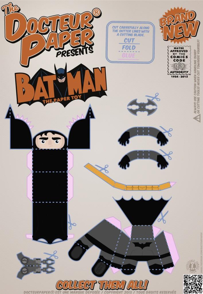 DOCTEUR PAPER BATMAN