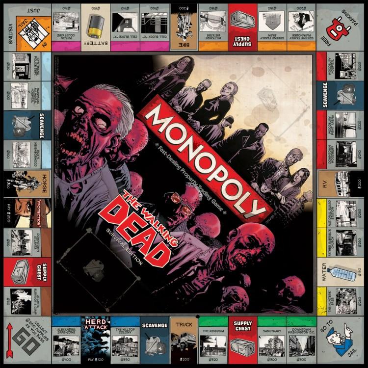sortileges Monopoly walking dead