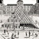 JR débarque au Louvre