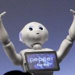 Pepper, le premier robot hôtesse d'accueil